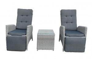 Pavo Recliner Bistro Lounge Set