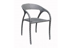 Chevron Stackable Dining Chair
