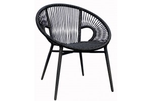 Round Stackable Dining Chair